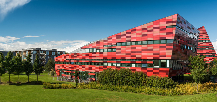 Picture of the Yang Fujia building, Jubilee campus. The home of Forensic Psychology at Nottingham