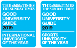 International and Sports University of the Year
