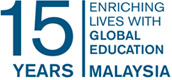 Find out about our 15 year anniversary in Malaysia