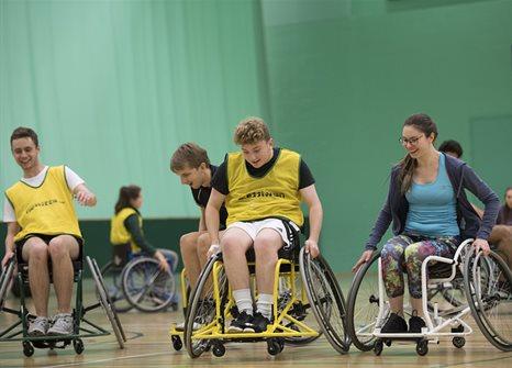 Image result for wheelchair basketball university of nottingham