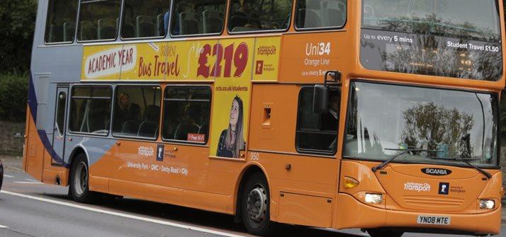 Bus Services The University Of Nottingham