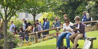 Enjoy the campus at an undergraduate Open Day