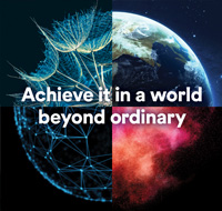 Achieve it in a world beyond ordinary