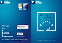 Undergraduate accommodation brochure