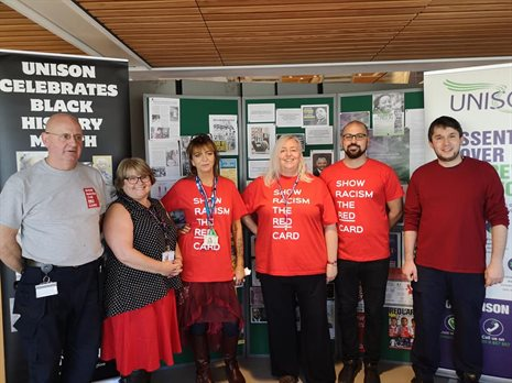 Branch committee members at SRTRC event, Oct 18