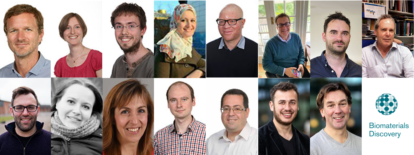Images of the 15 blog authors
