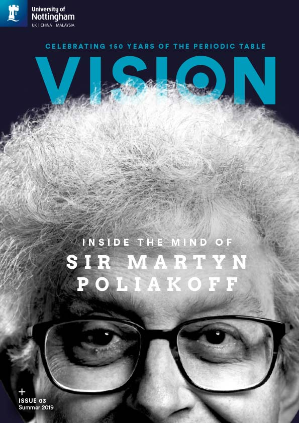 Vision front cover - Issue 3, Summer 2019