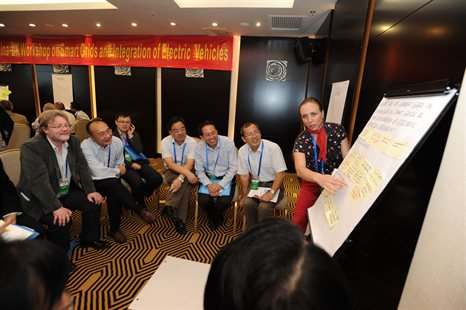 Alicia Greated facilitating china workshop facilitating
