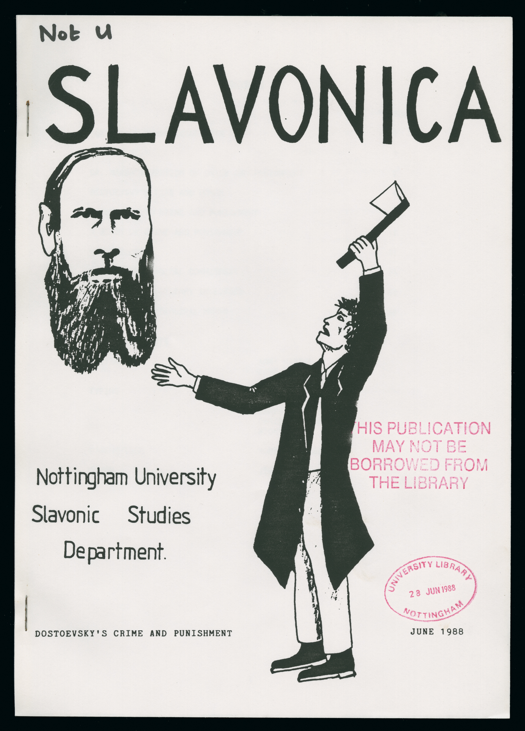 In Russian And Slavonic Studies 16