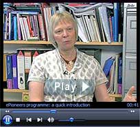 """ePioneers video: """"ePioneers programme: aims and objectives."""" Duration: 5 minutes : 3 seconds"""