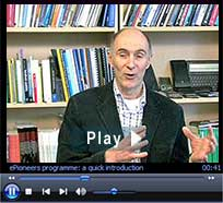 """ePioneers video: """"The role of the mentor in developing e-learning."""" Duration: 4 minutes : 26 seconds"""