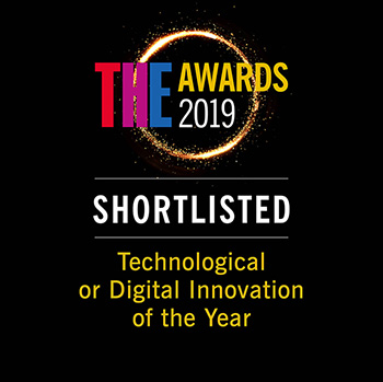 Times Higher Education Awards: 2019 - Shortlist - Technological or Digital Innovation of the year
