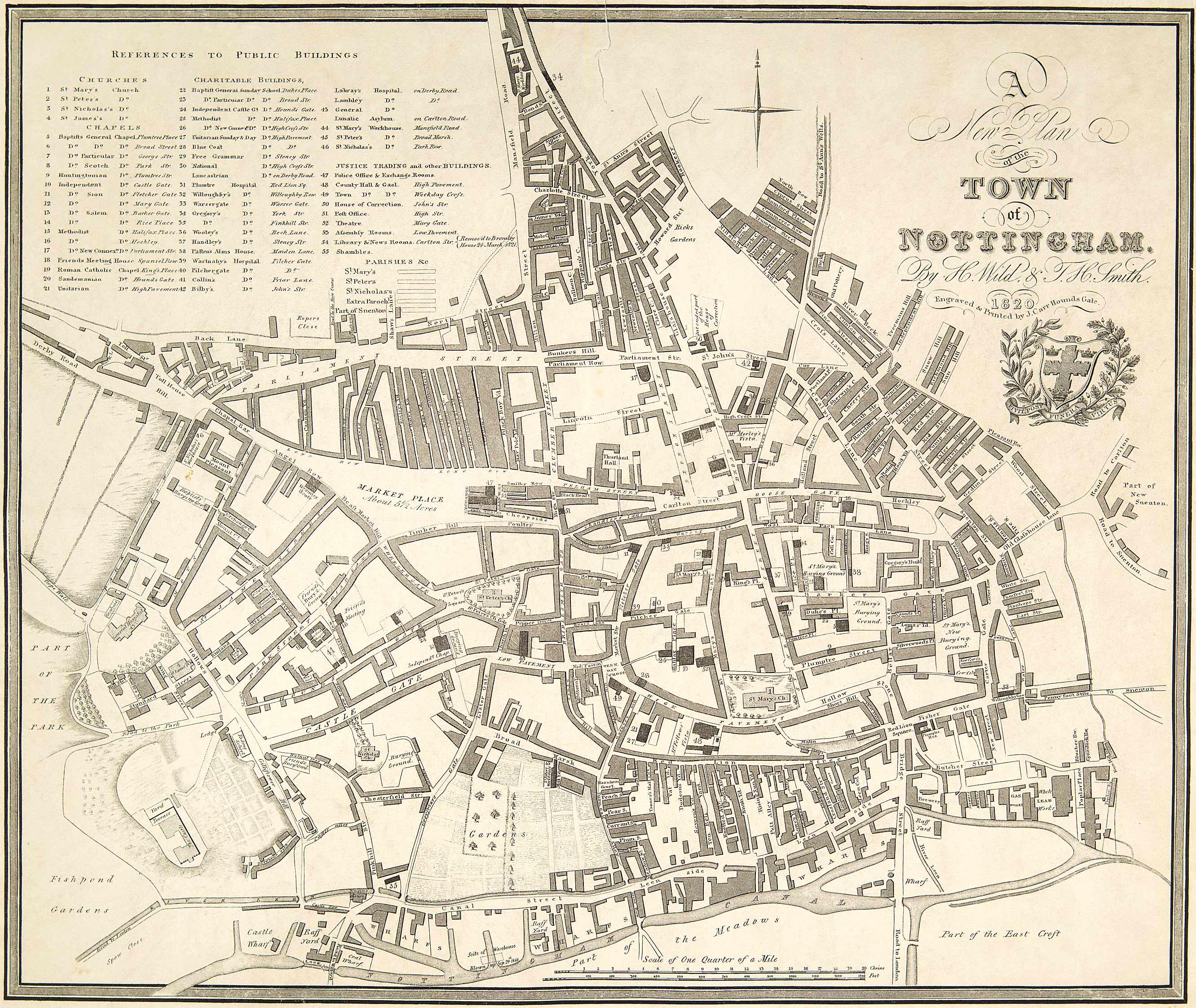 Maps The University of Nottingham