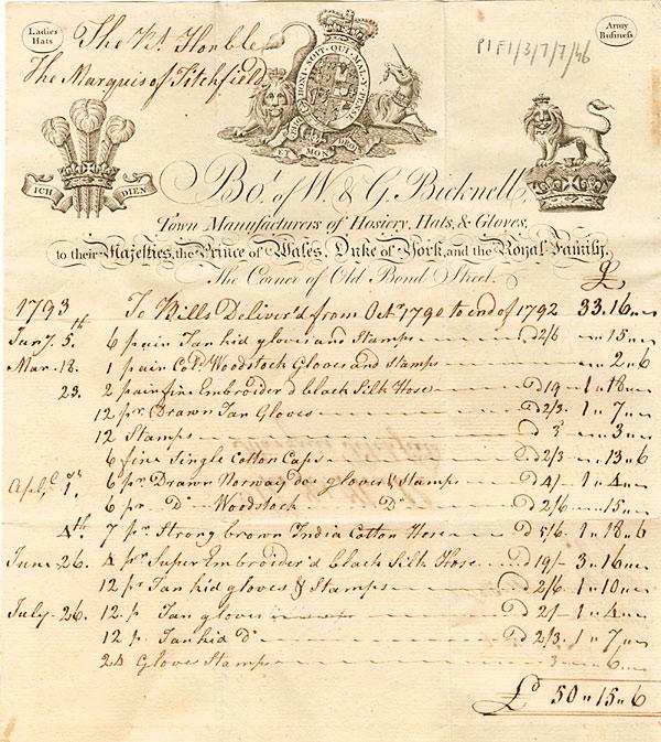 Bills and Receipts The University of Nottingham – Bill Receipt