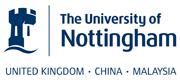 The University of Nottingham's website