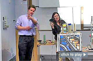 """Teaching at Nottingham video: """"Demonstrating principles using activities in lectures."""" 5 minutes : 22 seconds"""
