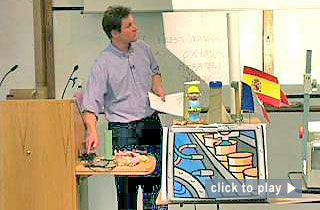 """Teaching at Nottingham video: """"Linking research and teaching."""" 5 minutes : 15 seconds"""