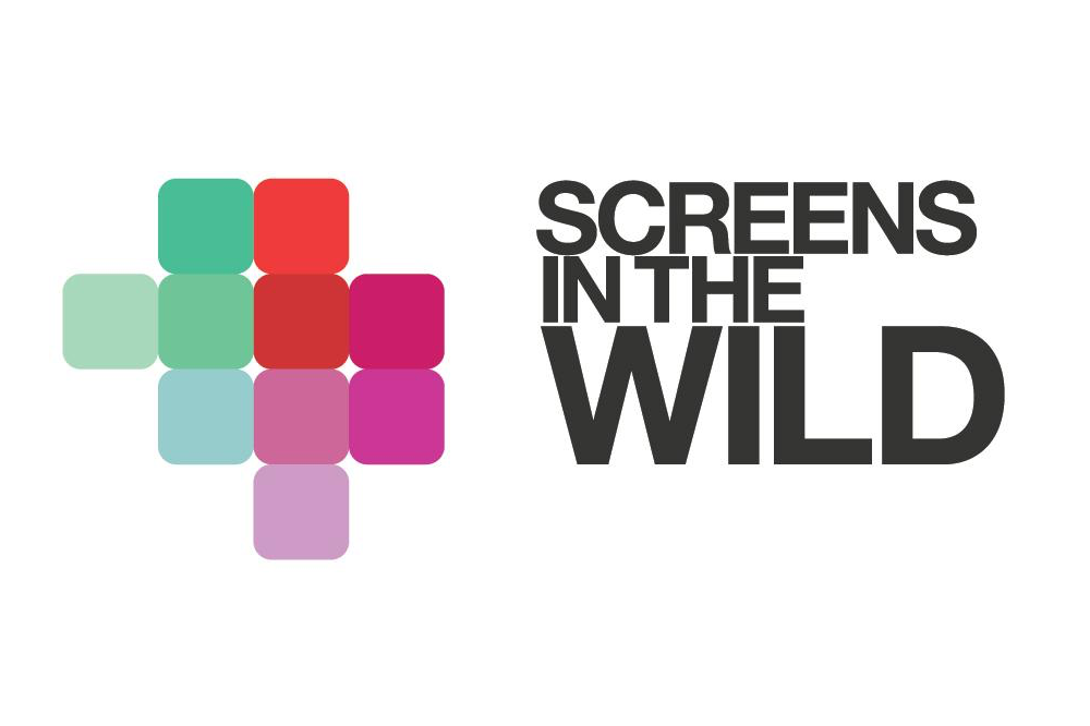 The Screens in the Wild logo