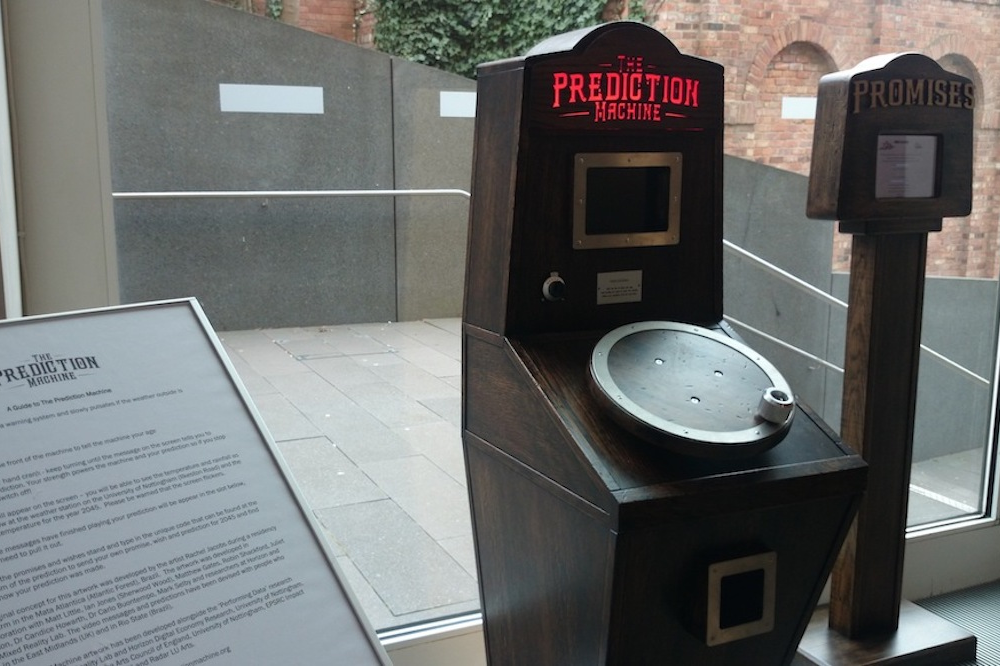 The Prediction Machine at Nottingham Contemporary