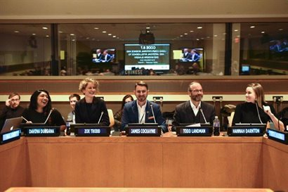 The Rights Lab team at the United Nations