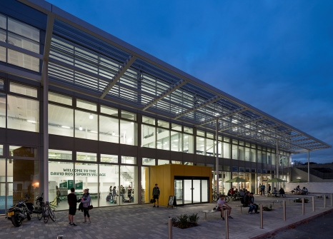 David Ross Sports Village The University Of Nottingham