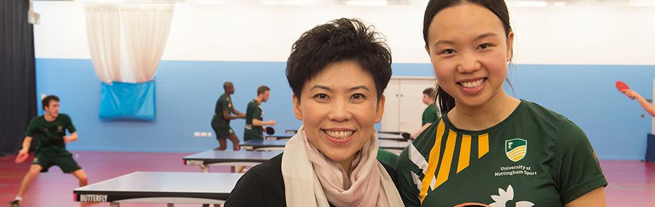 Deng Yaping Sports Scholarship - The University of Nottingham