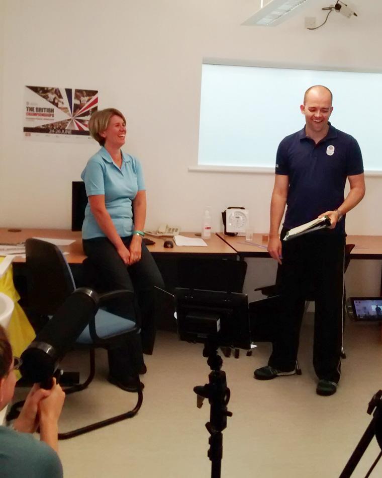 Sport Rehabilitation shoot