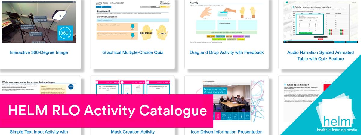 HELM RLO Activity Catalogue