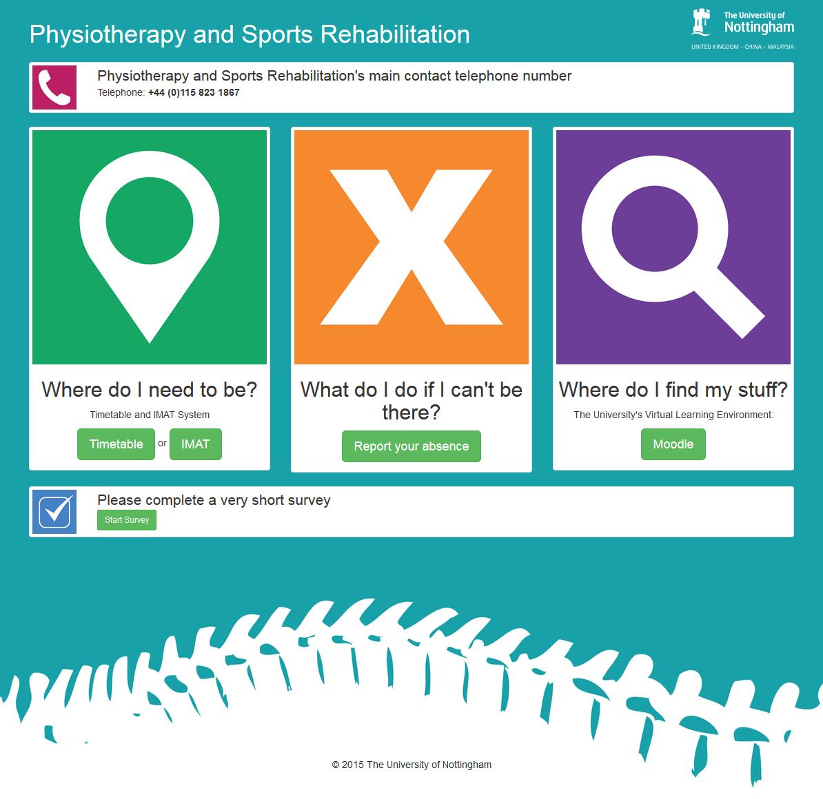 Associated online information resource