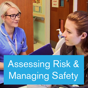 Assessing risk and managing safety with children and young people admitted with self-harm