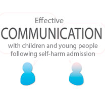 Effective communication with children and young people following self-harm admission