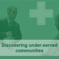 Discovering and understanding under-served communities