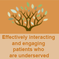 Effectively interacting and engaging patients who are underserved