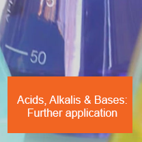 Acids, Alkalis & Bases: Further application