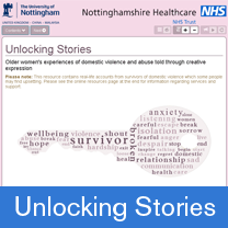 Unlocking stories - Experiences of older women who are survivors of domestic violence and abuse
