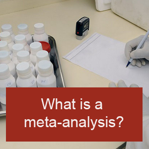 What is meta-analysis?